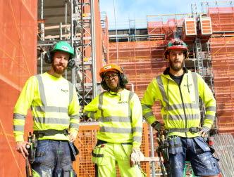 grundlön byggnadsarbetare